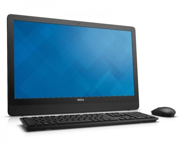 DELL Inspiron 24 (3464) 23.8'' FHD Core i3-7100U 2-Core 2.4GHz 4GB 1TB ODD Windows 10 Home 64bit crni + tastatura + miš