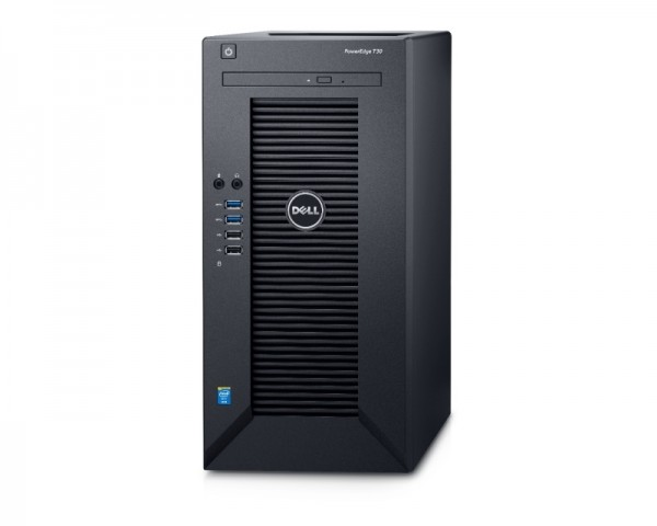 DELL PowerEdge T30 Xeon E3-1225v5 4-Core 3.3GHz (3.7GHz) 8GB 1TB 3yr NBD