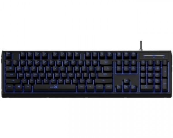 GENIUS K6 Pluger Gaming USB US crna tastatura