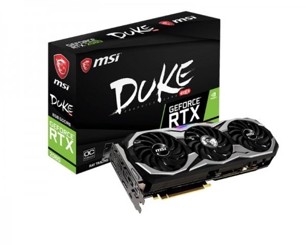 MSI nVidia GeForce RTX 2080 8GB 256bit RTX 2080 DUKE 8G OC
