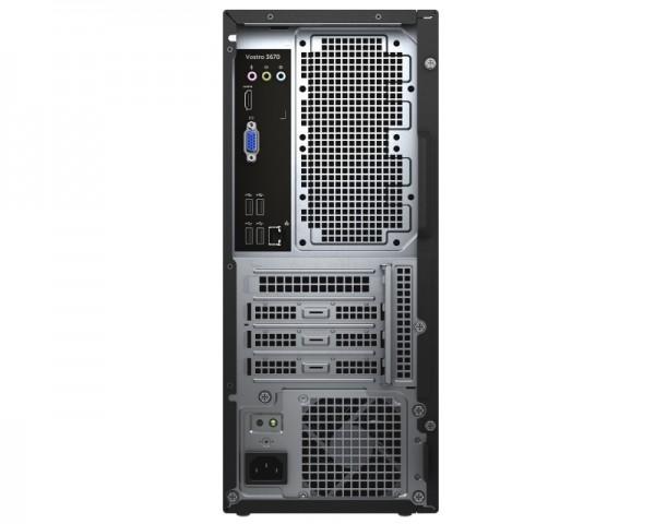 DELL Vostro 3670 MT i7-8700 8GB 1TB DVDRW Win10Pro64bit 3yr NBD + WiFi