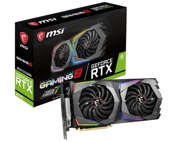 MSI nVidia GeForce RTX 2070 8GB 256bit RTX 2070 GAMING Z 8G
