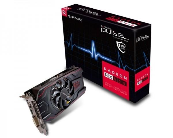 SAPPHIRE AMD Radeon RX 560 4GB 128bit PULSE RX 560 4G D5 OC (11267-18-20G)