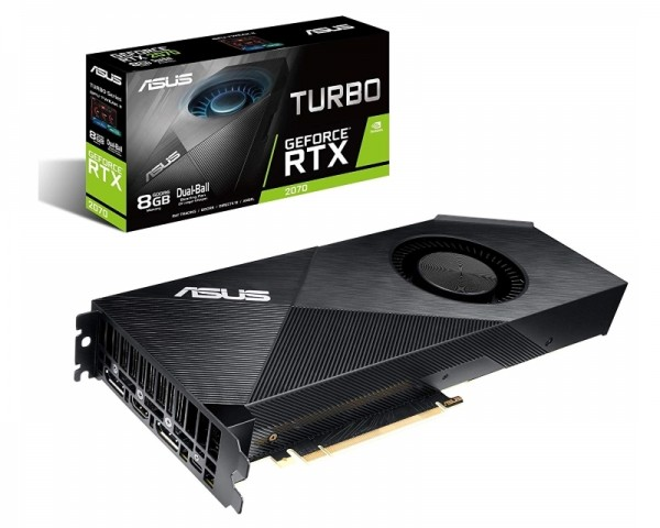 ASUS nVidia GeForce RTX 2070 8GB 256bit TURBO-RTX2070-8G