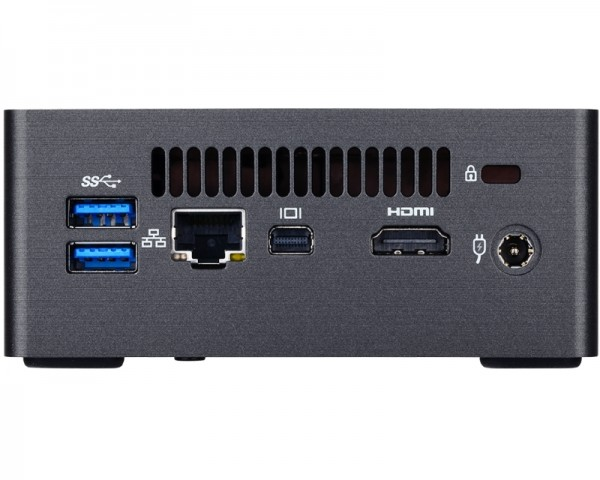 GIGABYTE GB-BKi3HA-7100 BRIX Mini PC Intel Core i3-7100U 2.4GHz