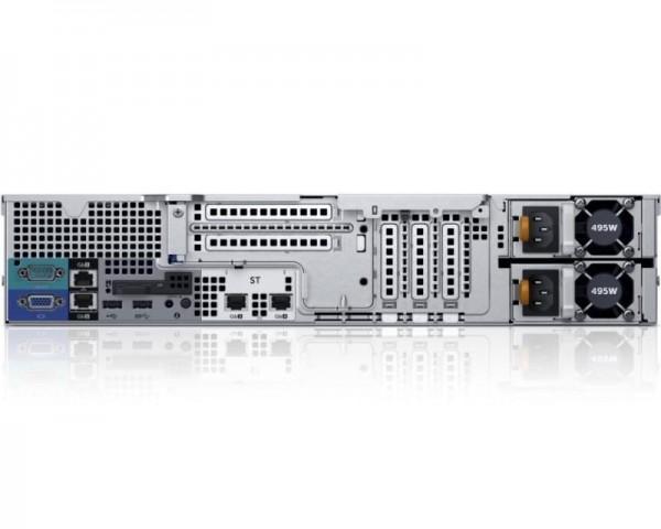 DELL PowerEdge R530 2x Xeon E5-2630 v4 10C 2x8GB H730 2x200GB SSD SD DVDRW 750W (1+1) 3yr NBD + VMware ESXi + Sine za Rack