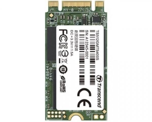 TRANSCEND 128GB M.2 SATA III TS128GMTS400 MTS400 Series SSD