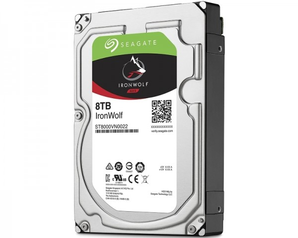 SEAGATE 8TB 3.5'' SATA III 256MB ST8000VN0022 IronWolf Guardian