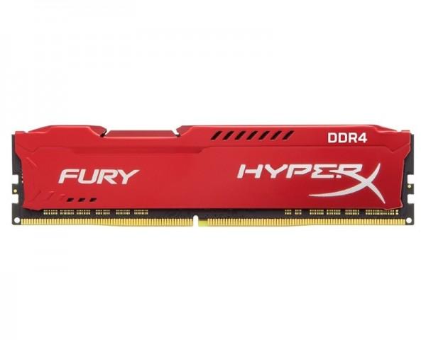 KINGSTON DIMM DDR4 64GB (4x16GB kit) 2666MHz HX426C16FRK464 HyperX Fury Red
