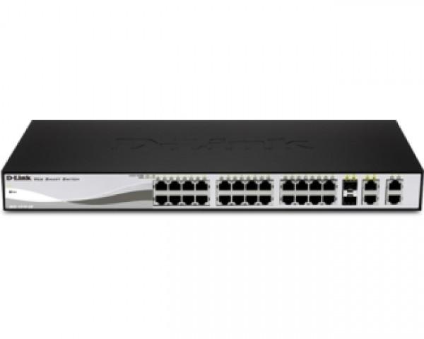 D-LINK DES-1210-28 Web Smart Combo 28port switch