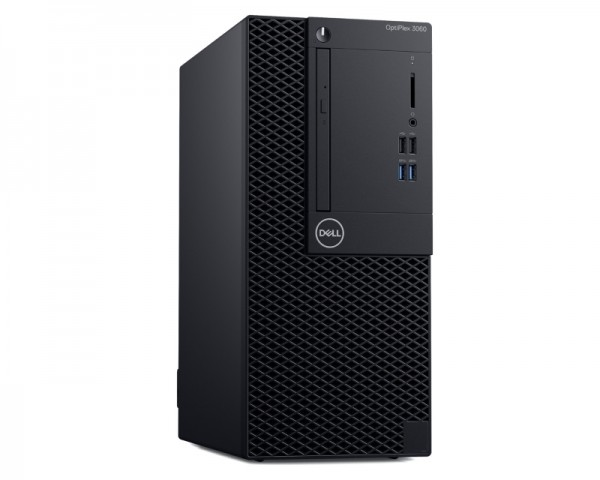 DELL OptiPlex 3060 MT i3-8100 4GB 256GB SSD DVDRW Win10Pro64bit 3yr NBD