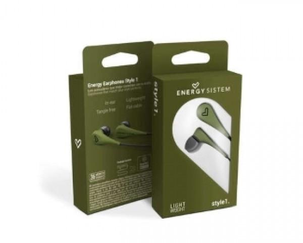 ENERGY SISTEM Energy Style 1 zelene bubice