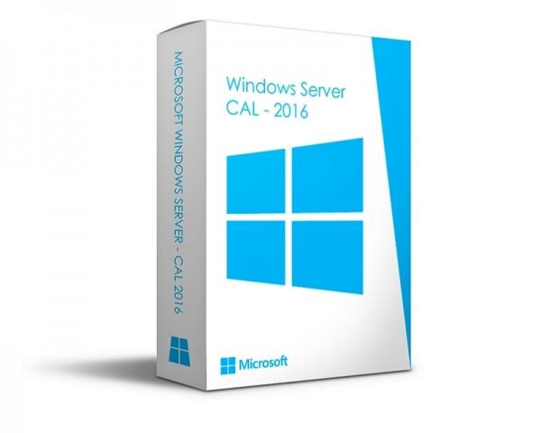 MICROSOFT Windows Server CAL 2016 English 1pk DSP OEI 5 Clt User CAL (R18-05244)
