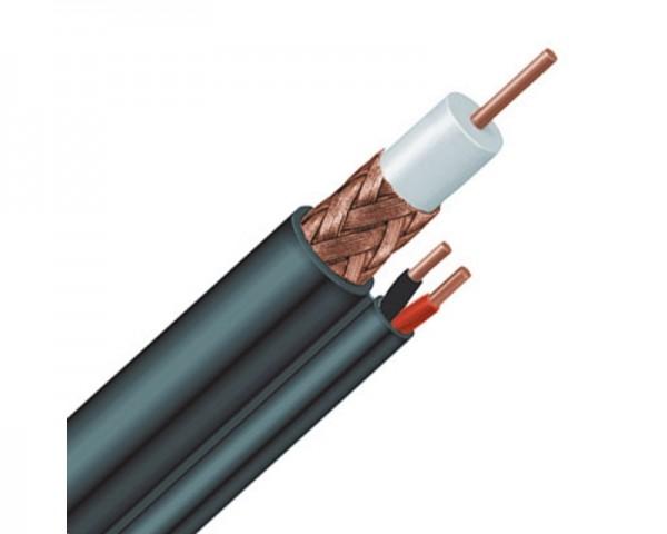 GIGATECH Koaksijalni kabl RG59 sa 2x 0.75mm naponskim kablom