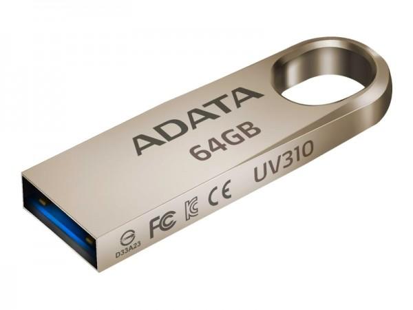 A-DATA 64GB 3.1 AUV310-64G-RGD zlatni
