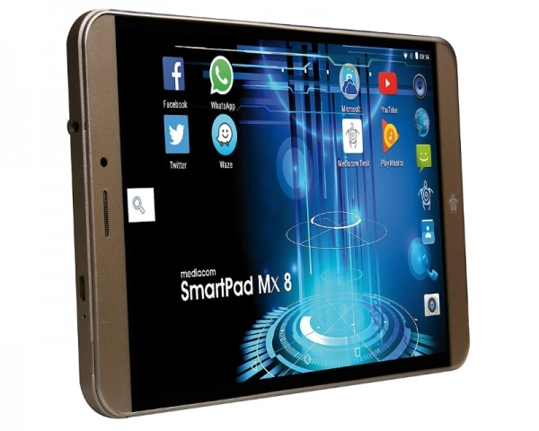 MEDIACOM Smartpad MX 8 Dual SIM 4G Phone SP8MXA 8'' MT8735 Quad Core 1.1GHz 1GB 16GB Android 6.0
