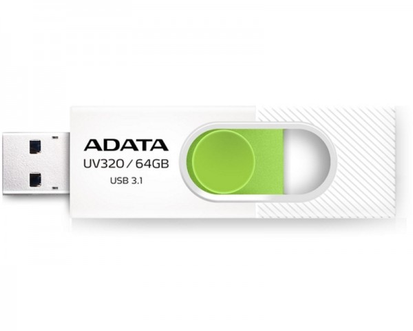 A-DATA 64GB 3.1 AUV320-64G-RWHGN belo zeleni