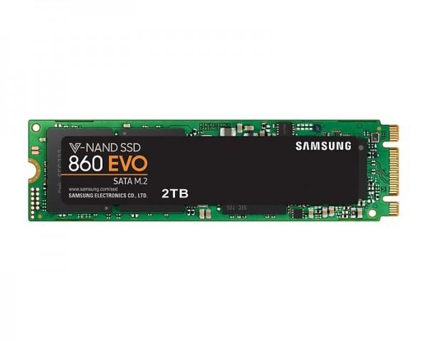 SAMSUNG 2TB M.2 MZ-N6E2T0BW 860 EVO Series SSD