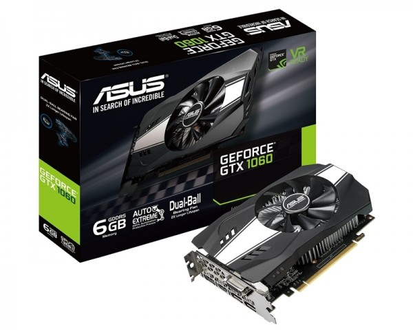 ASUS nVidia GeForce GTX 1060 6GB 192bit PH-GTX1060-6G