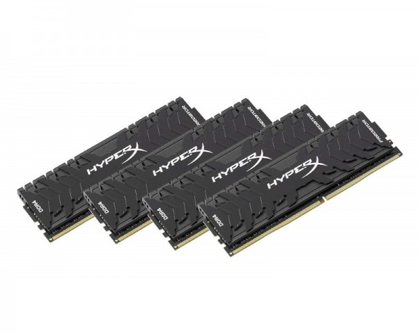 KINGSTON DIMM DDR4 64GB (4x16GB kit) 3200MHz HX432C16PB3K464 HyperX XMP Predator