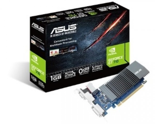 ASUS nVidia GeForce GT 710 1GB 32bit GT710-SL-1GD5