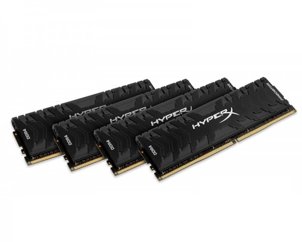 KINGSTON DIMM DDR4 64GB (4x16GB kit) 3600MHz HX436C17PB3K464 HyperX XMP Predator