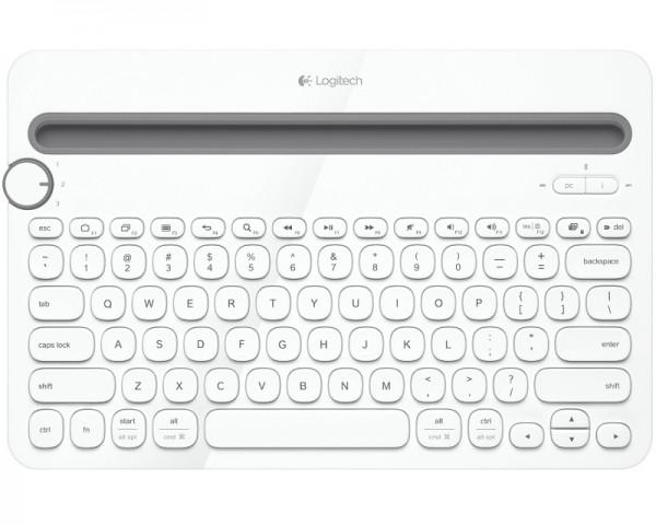 LOGITECH K480 Bluetooth Multi-Device US bela tastatura