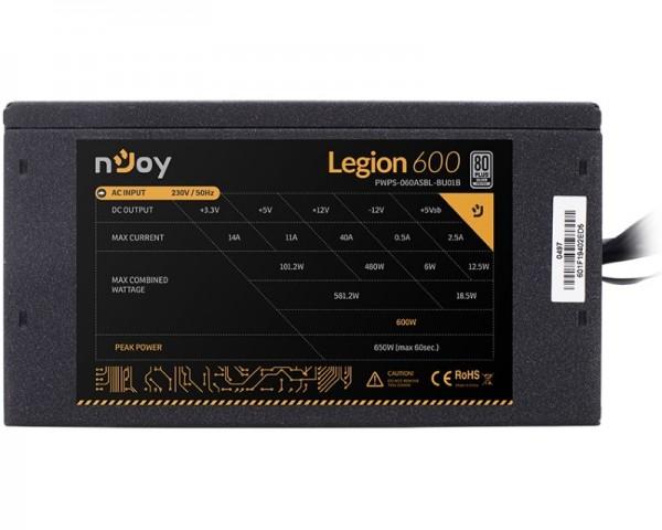 NJOY Legion 600 600W napajanje (PWPS-060ASBL-BU01B)