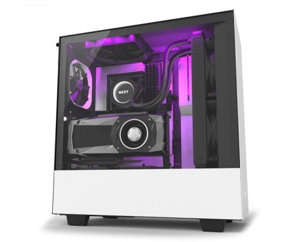 NZXT H500i kućište belo crno (CA-H500W-W1)