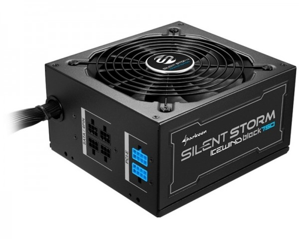 SHARKOON SilentStorm Icewind Black 750W napajanje