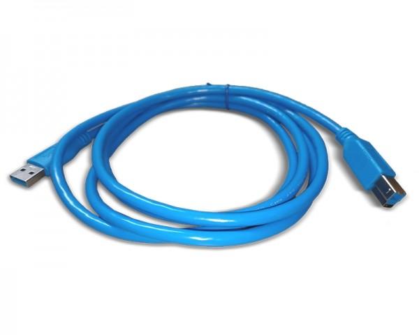 FAST ASIA Kabl USB 3.0 - USB 3.0 B MM 1.8m plavi