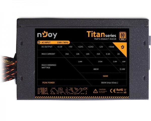 NJOY Titan 500 500W napajanje (PWPS-050A02T-BU01B)
