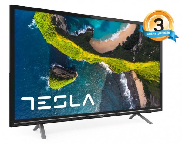 Tesla TV 32S367BHS, 32'' TV LED, slim DLED, DVB-T2CS2, HD Ready, Opera Smart, WiFi, crni' ( '32S367BHS' )