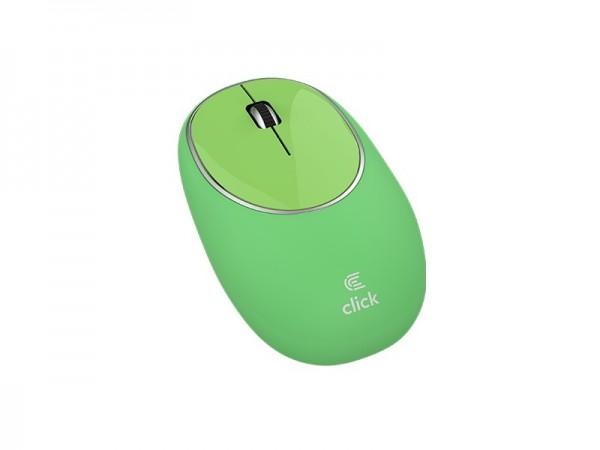 Click M-W2-SW Miš bežični USB, gumeni, zeleni' ( 'MW2SWGR' )