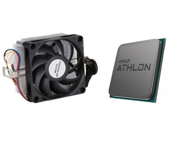 AMD Athlon 3000G 2 cores 3.5GHz Multipack with Radeon Vega 3 Graphics