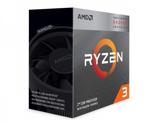 AMD Ryzen 3 3200G 4 cores 4.0GHz Box