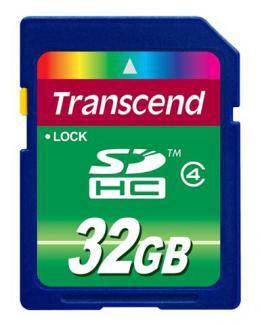 SECURE DIGITAL CARD 32GB TRANSCEND TS32GSDHC4