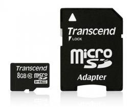 Memorijska kartica Transcend SD MICRO 8GB HC Class 10
