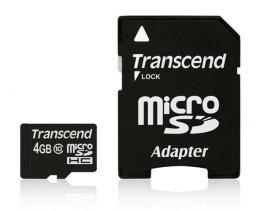 Memorijska kartica Transcend SD MICRO 4GB HC Class 10