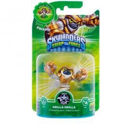 Skylanders SWAP Force Shapeshifter Grilla Drilla