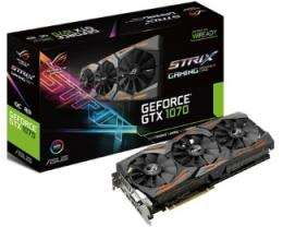 ASUS nVidia GeForce GTX 1070 8GB 256bit STRIX-GTX1070-O8G-GAMING