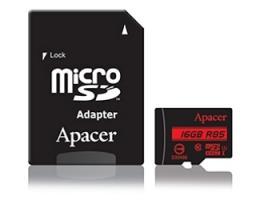 APACER UHS-I U1 MicroSDHC 16GB class 10 + Adapter AP16GMCSH10U5-R