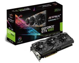 ASUS nVidia GeForce GTX 1080 8GB 256bit STRIX-GTX1080-O8G-GAMING
