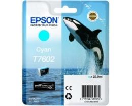 EPSON T7602 Cyan ketridž