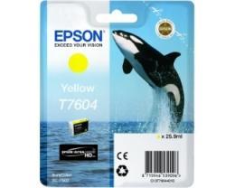 EPSON T7604 Yellow ketridž