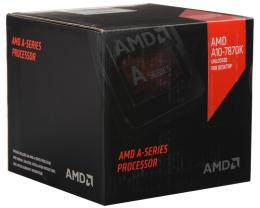 AMD A10-7870K 4 cores 3.9GHz (4.1GHz) Radeon R7 Black Edition Box with 125W quiet cooler