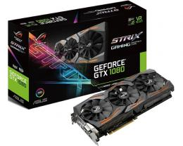 ASUS nVidia GeForce GTX 1080 8GB 256bit STRIX-GTX1080-A8G-GAMING