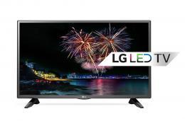 LG 32LH510B LED TV 32 HD Ready, DVB-T,  Metal/Black, Two pole stand