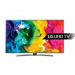 LG 49UH664V LED TV 49 Ultra HD, WebOS 3.0 SMART, T2, Metal/White, Crescent stand