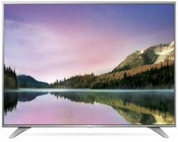 LG 55UH6507 LED TV 55 Ultra HD, WebOS 3.0 SMART, T2, Metal/Silver, Eiffel stand